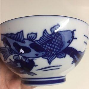 Small World Market Bowl 💙🐟